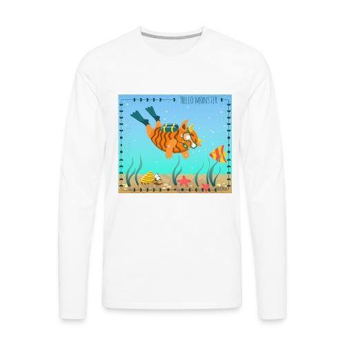 Monster diver - Men's Premium Long Sleeve T-Shirt