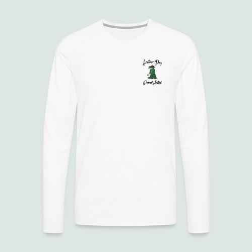 Frogtupus (black lettering) - Men's Premium Long Sleeve T-Shirt