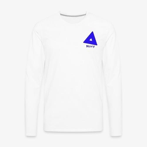 Navy Merchandise style 1 original - Men's Premium Long Sleeve T-Shirt