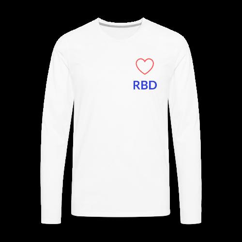 Simple RBD logo - Men's Premium Long Sleeve T-Shirt
