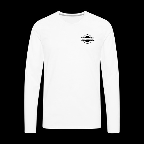 MotoManiac TV - Men's Premium Long Sleeve T-Shirt