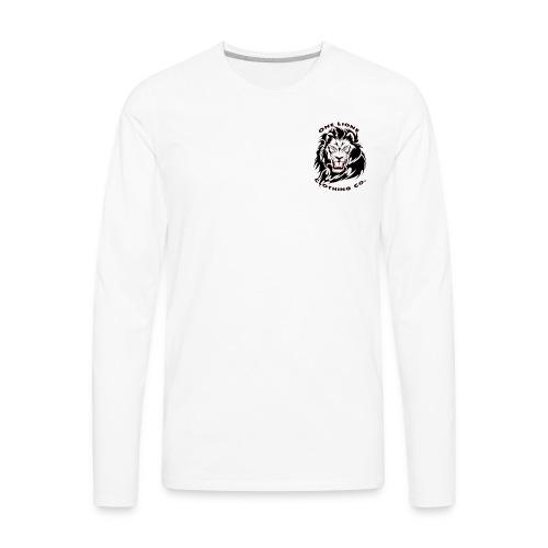 One Lione Clothing Co. Corner Emblem - Men's Premium Long Sleeve T-Shirt