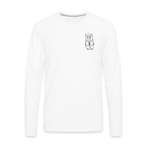 Corgi CEO - Men's Premium Long Sleeve T-Shirt