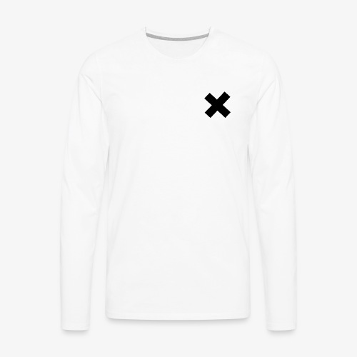 Cross My Heart Out - Men's Premium Long Sleeve T-Shirt