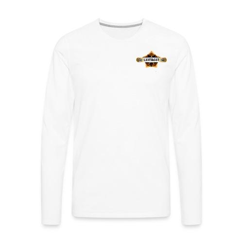 L33TSk33T Gold - Men's Premium Long Sleeve T-Shirt