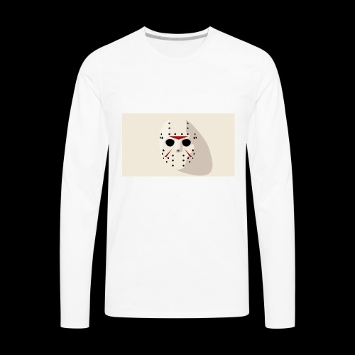 Jason from Friday 13th - Men's Premium Long Sleeve T-Shirt