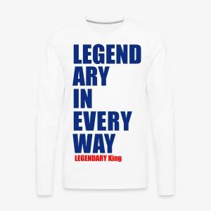 Legendary King - Men's Premium Long Sleeve T-Shirt