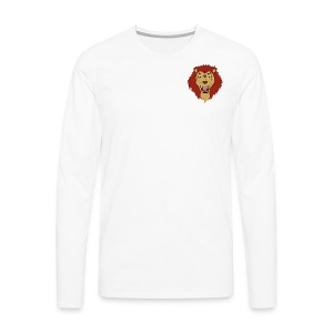 Lion FX Heart - Men's Premium Long Sleeve T-Shirt
