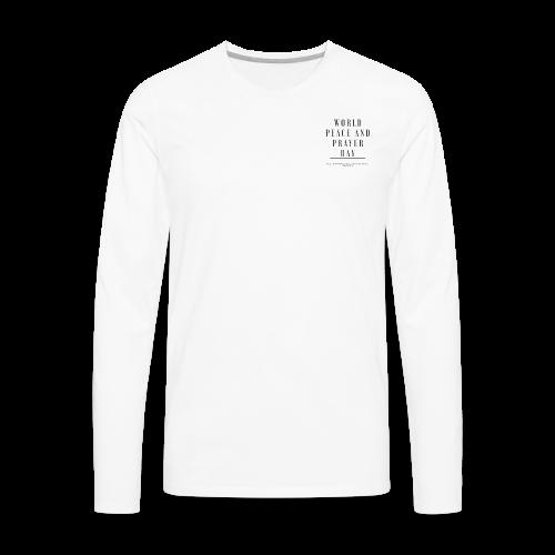 World Peace and Prayer Day - Men's Premium Long Sleeve T-Shirt