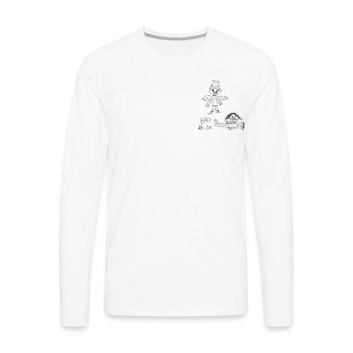 ANGEL OF DESTRUCTION - Men's Premium Long Sleeve T-Shirt