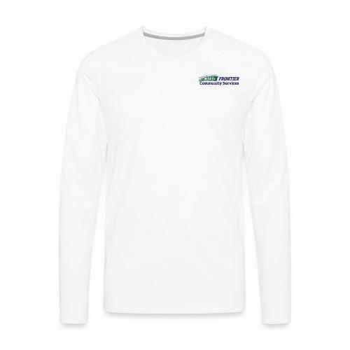Frontier Logo - Full Color - Men's Premium Long Sleeve T-Shirt