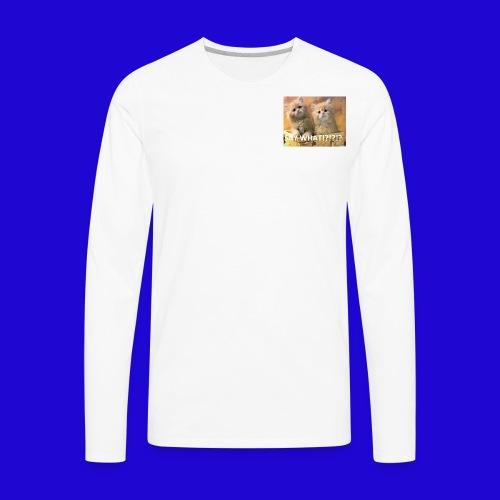 Cute Cats - Men's Premium Long Sleeve T-Shirt
