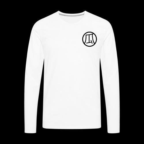 Melon KANJI - Men's Premium Long Sleeve T-Shirt