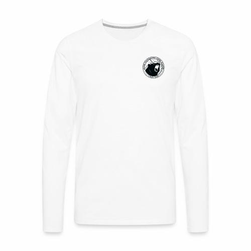 Black Cybear Logo - Men's Premium Long Sleeve T-Shirt