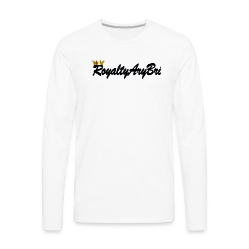 RoyaltyAryBri - Men's Premium Long Sleeve T-Shirt