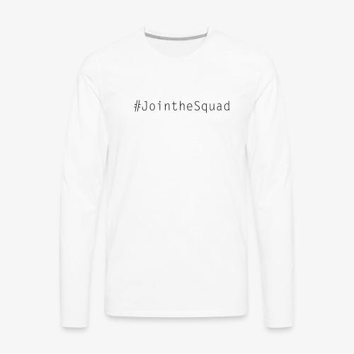 Gaming Squad Text - Men's Premium Long Sleeve T-Shirt