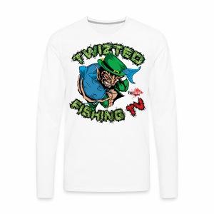 Official Twizted Fishing TV Logo!! - Men's Premium Long Sleeve T-Shirt