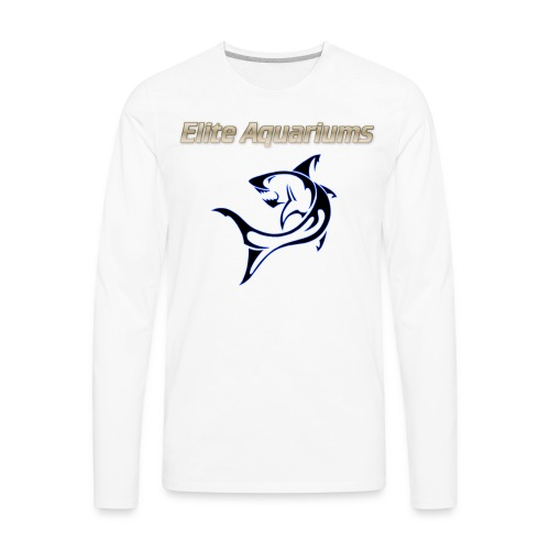 Elite Aquariums Shark - Men's Premium Long Sleeve T-Shirt