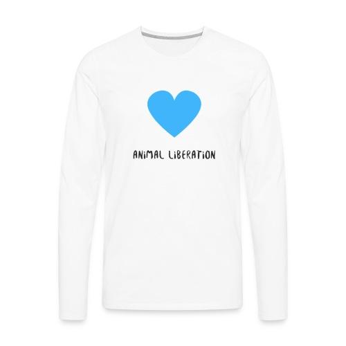 ANIMAL LIBERATION - Men's Premium Long Sleeve T-Shirt