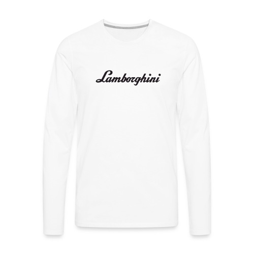 Lamborghini - Men's Premium Long Sleeve T-Shirt