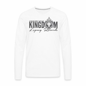 KINGDOM LEGACY RECORDS LOGO MERCHANDISE - Men's Premium Long Sleeve T-Shirt