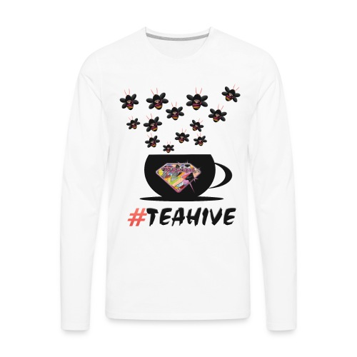 #Teahive in a cup - Men's Premium Long Sleeve T-Shirt