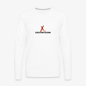 New XXXTENTACION Merch - Men's Premium Long Sleeve T-Shirt
