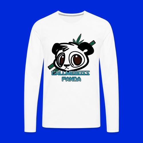 CallMeBossPanda - Men's Premium Long Sleeve T-Shirt