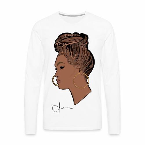 Poly Queen - Men's Premium Long Sleeve T-Shirt