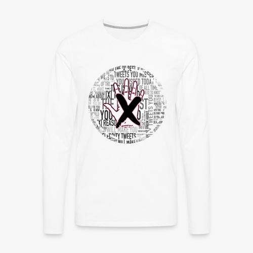 HANDS OFF APPAREL - Men's Premium Long Sleeve T-Shirt