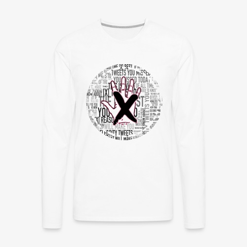 HANDS OFF APPAREL - Men's Premium Long Sleeve T-Shirt