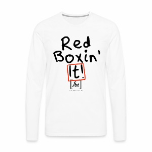 Red Boxin' It! [fbt] - Men's Premium Long Sleeve T-Shirt