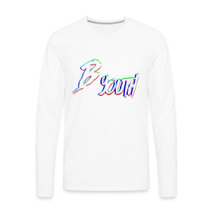 BYOUTH GLITCH - Men's Premium Long Sleeve T-Shirt