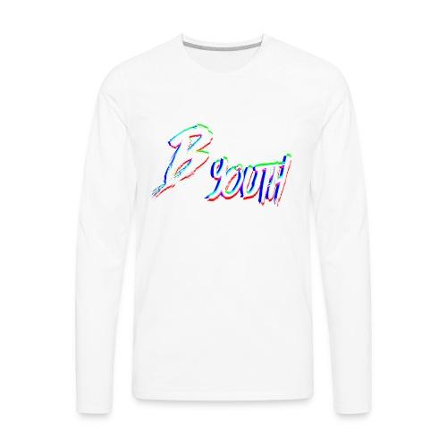 BYOUTH GLITCH - Men's Premium Long Sleeve T-Shirt