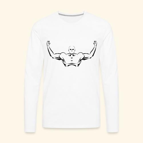 Flex Your Pecs - Men's Premium Long Sleeve T-Shirt