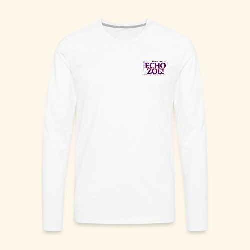 Echo Zoe - Men's Premium Long Sleeve T-Shirt
