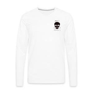 THE SKULL LOVE - Men's Premium Long Sleeve T-Shirt