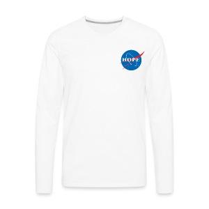 Hope (Nasa design) - Men's Premium Long Sleeve T-Shirt