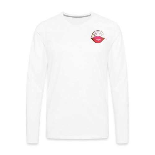 Red Lips - Men's Premium Long Sleeve T-Shirt