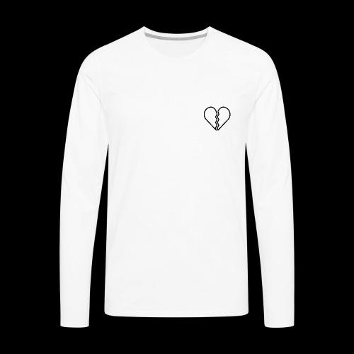 heartbroken - Men's Premium Long Sleeve T-Shirt