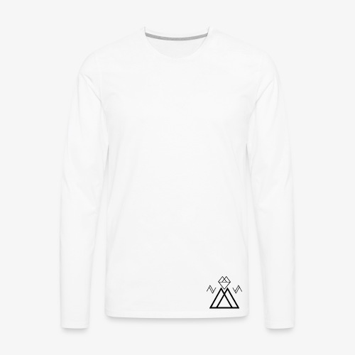 EDMS Black Logo - Men's Premium Long Sleeve T-Shirt