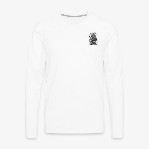Das Monkey Bomb CZC LOGO - Men's Premium Long Sleeve T-Shirt