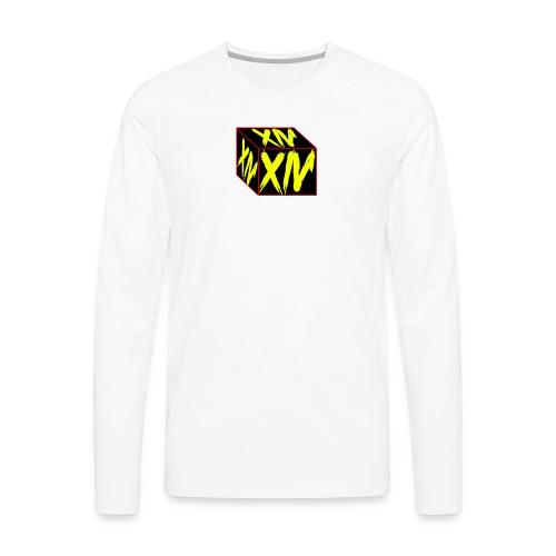 XIV Front - Men's Premium Long Sleeve T-Shirt