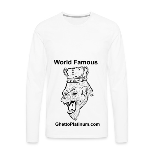 T-shirt-worldfamousForilla2tight - Men's Premium Long Sleeve T-Shirt