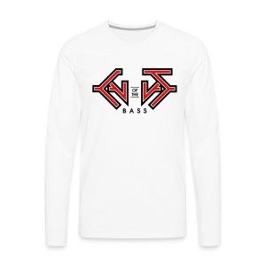 Cult Of the Bass Logo Shirt - Men's Premium Long Sleeve T-Shirt