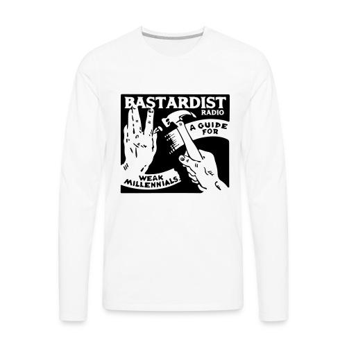 Bastardist Radio Block - Men's Premium Long Sleeve T-Shirt