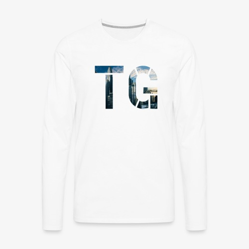 Initials 2 - Men's Premium Long Sleeve T-Shirt