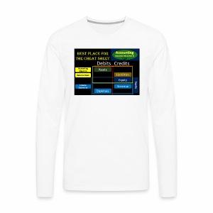 Cheat Sheet - Men's Premium Long Sleeve T-Shirt