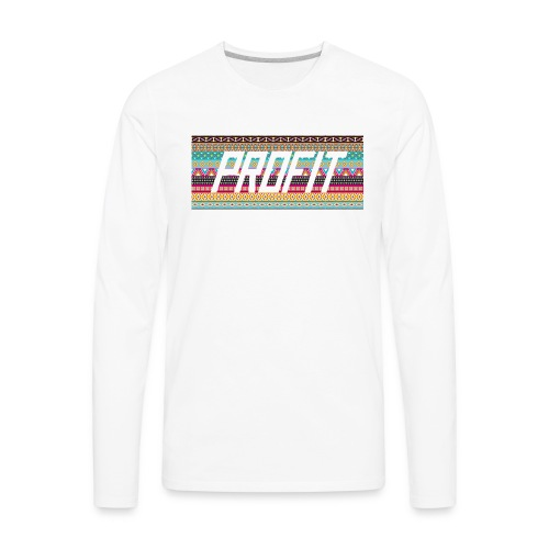 Profit - Aztec Limited Edition - Men's Premium Long Sleeve T-Shirt