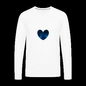 Galaxy Heart - Men's Premium Long Sleeve T-Shirt